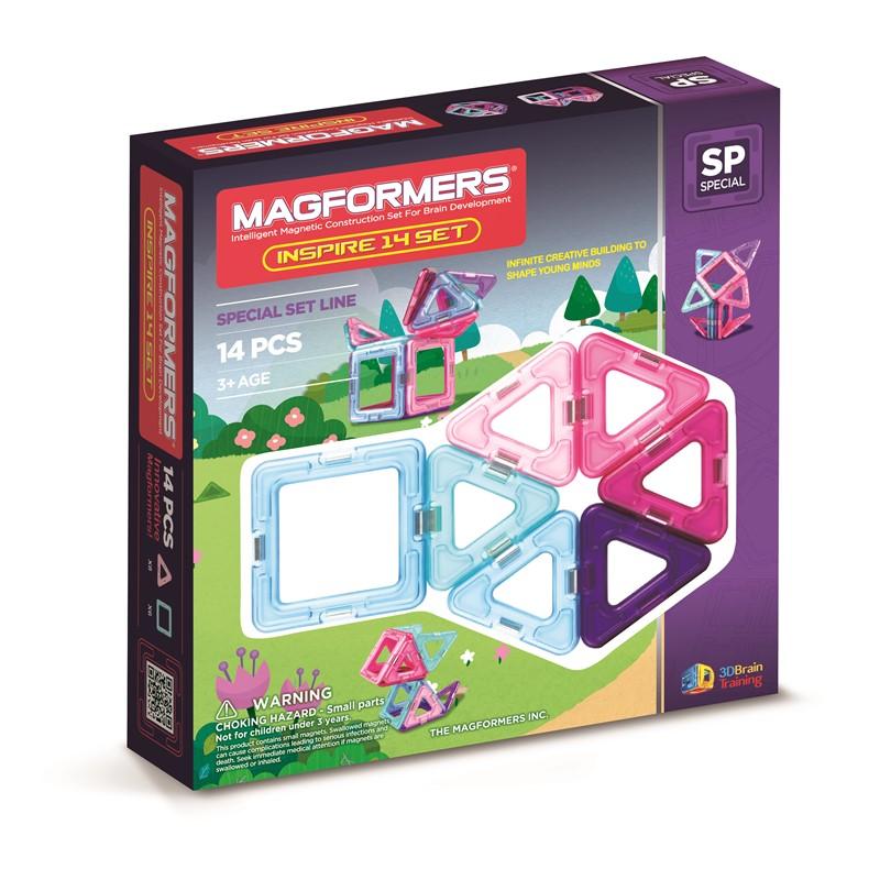 Magformers inspire 14 set , 8 stk. på lager fra Magformers fra pixizoo
