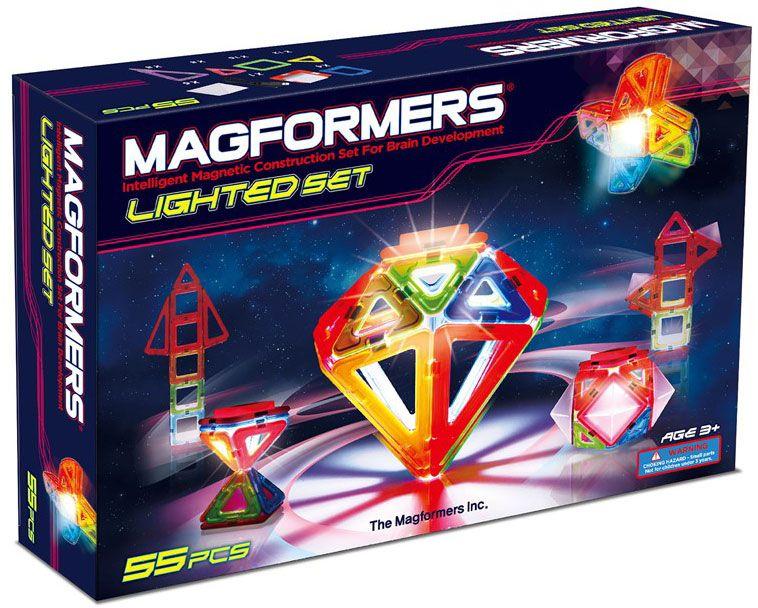 Magformers Magformers lighted set (led), 4 stk. på lager på pixizoo