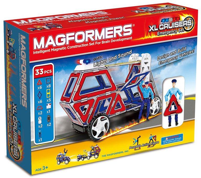 Magformers Byggsats XL Cruisers Emergency Set