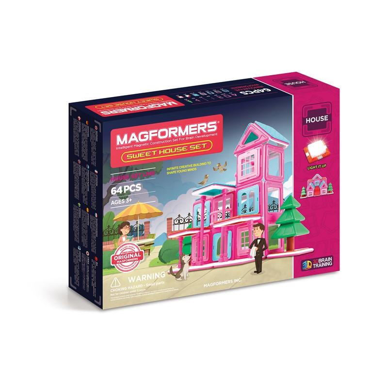 Magformers Magformers sweet house sæt, 8 stk. på lager på pixizoo