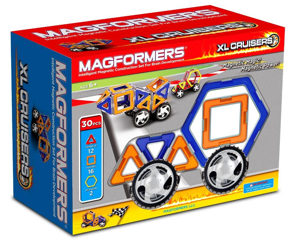 Magformers – Magformers xl cruisers car set, +10 stk. på lager på pixizoo