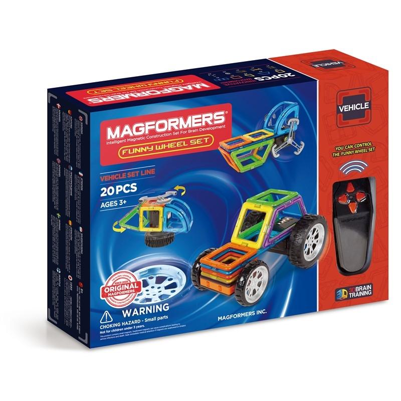 Magformers Funny Wheel Set 20 Delar