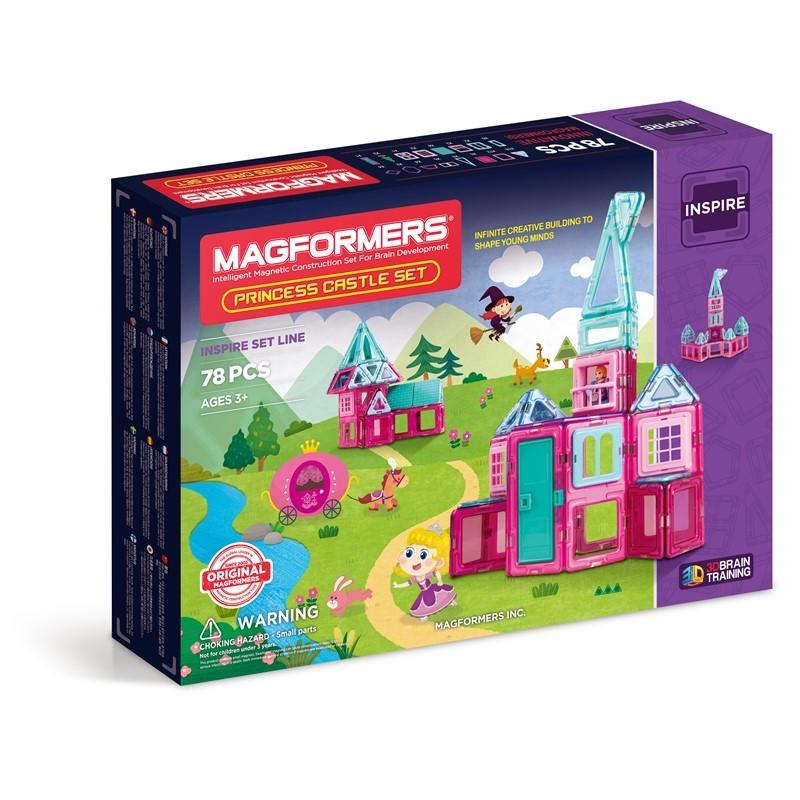 Magformers Byggsats Princess Castle Set