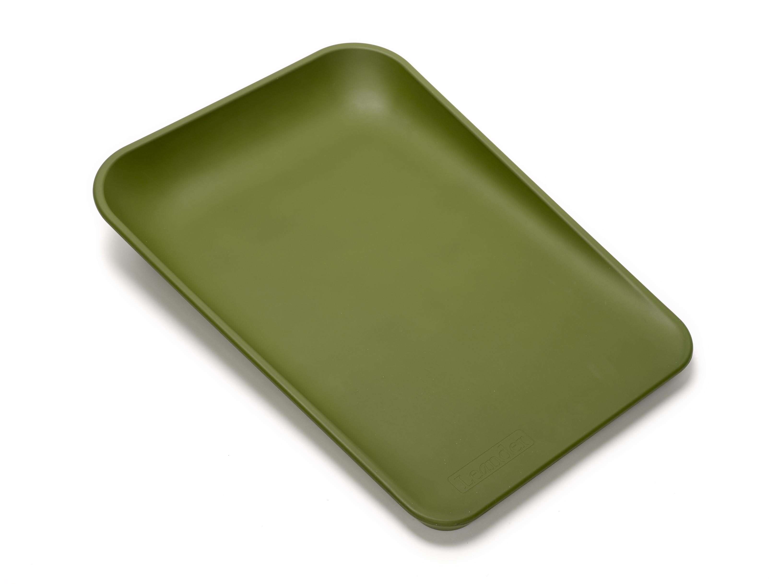Leander – Leander matty puslepude - dusty green, 2 stk. på lager fra pixizoo