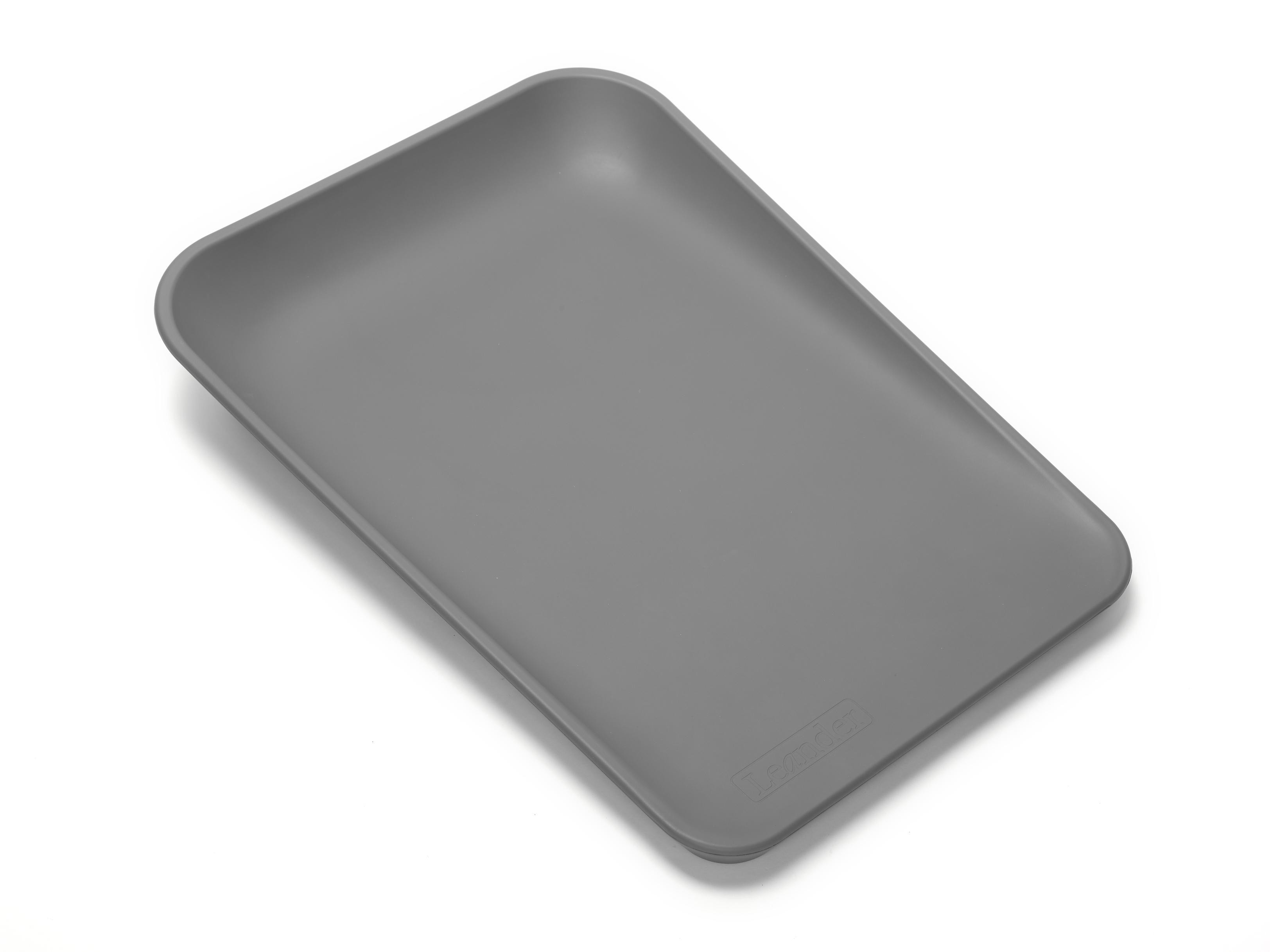 Leander matty puslepude - dusty grey, 2 stk. på lager fra Leander fra pixizoo