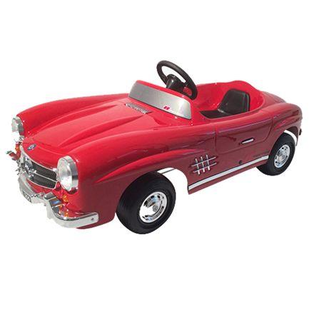 Ride Ons Mercedes 300 SL Pedalbil - Röd