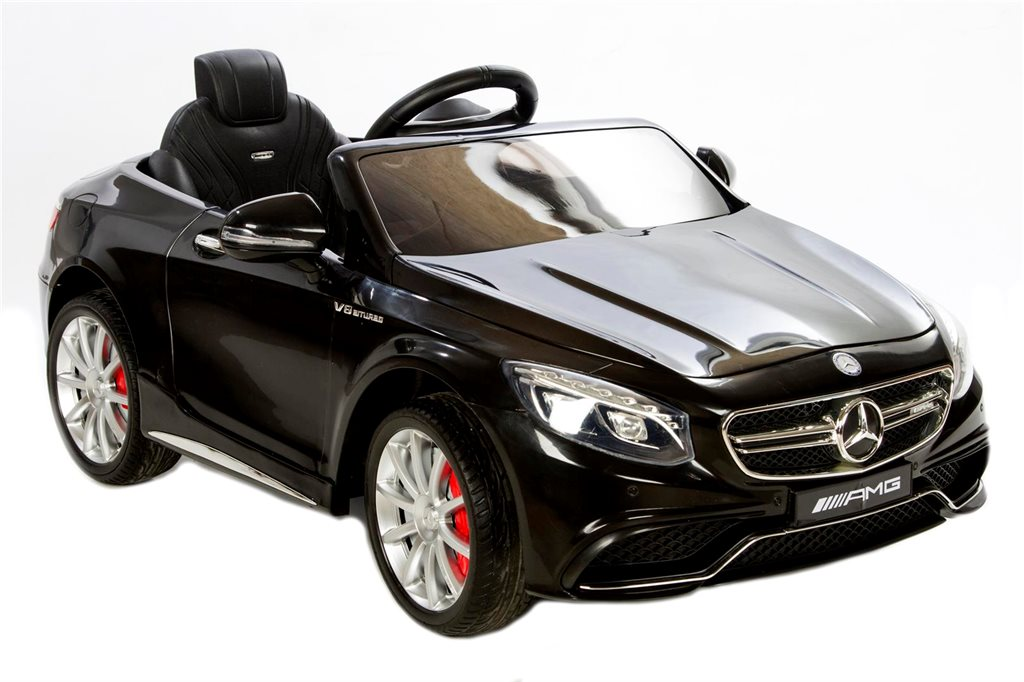 Ride Ons Mercedes S63 Black Elbil - Svart