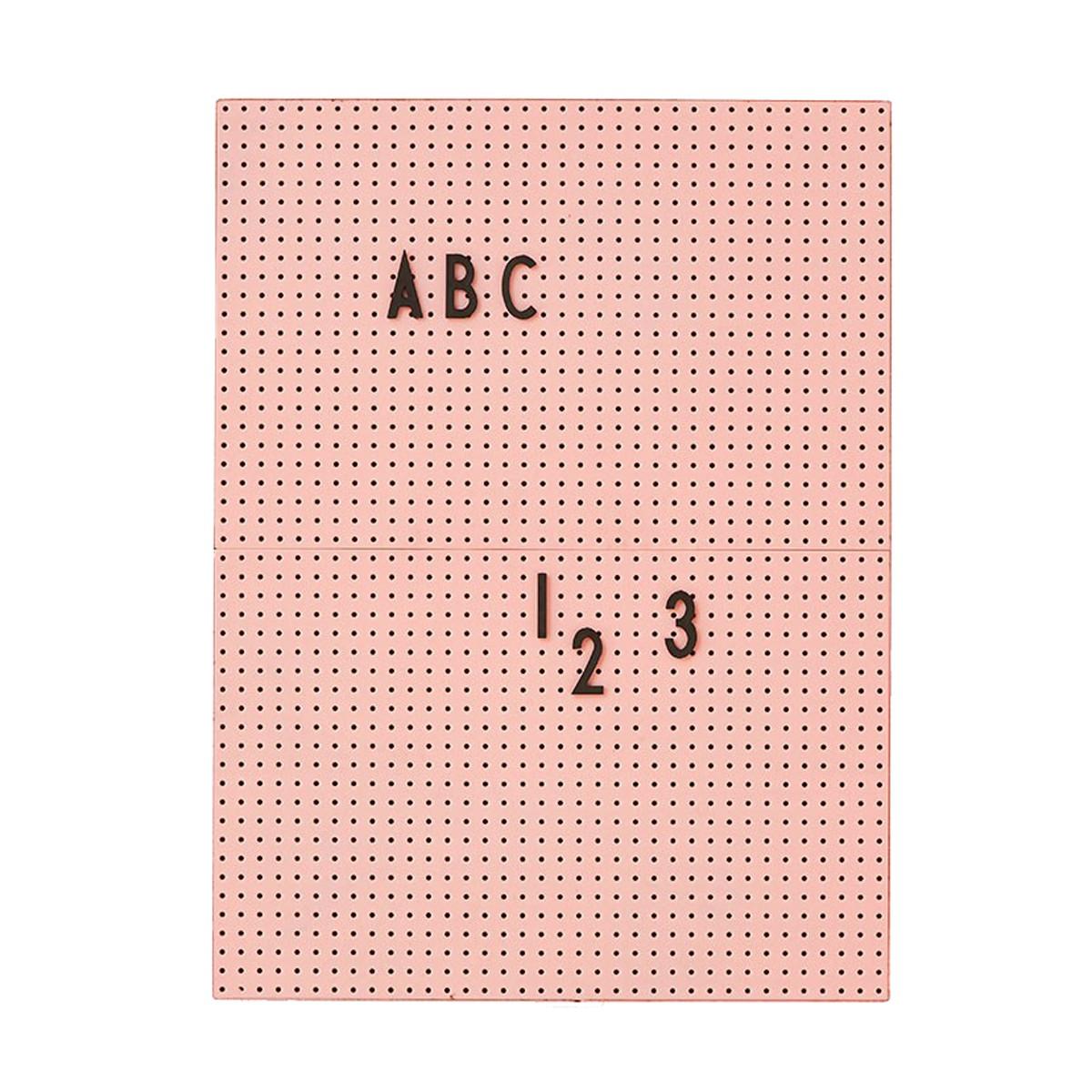 Designletters message board a4 - pink, 6 stk. på lager fra Designletters på pixizoo