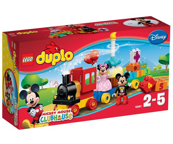 Lego duplo – Lego duplo mickey & minnies fødselsdagsoptog , 10 stk. på lager fra pixizoo