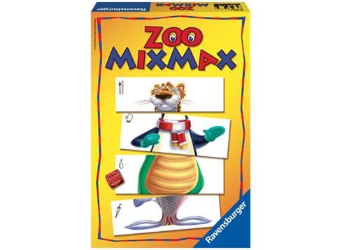 Ravensburger Ravensburger - zoo mix max spil, 2 stk. på lager på pixizoo