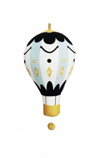 Elodie Details Moon Balloon Musikmobil Liten - Blå/Vit