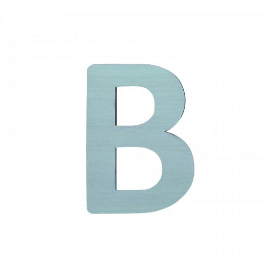 Sebra Träbokstav B - Blå