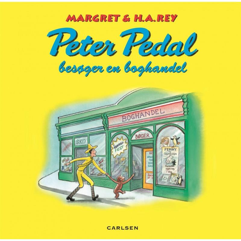 Carlsen peter pedal besøger en boghandel, +10 stk. på lager fra Carlsen på pixizoo