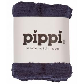 Pippi Tvättlappar 4-pack - Dark Navy