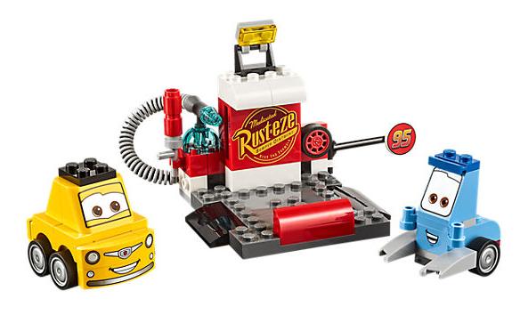 LEGO Juniors (10732) Cars 3 Guido och Luigis Depåstopp