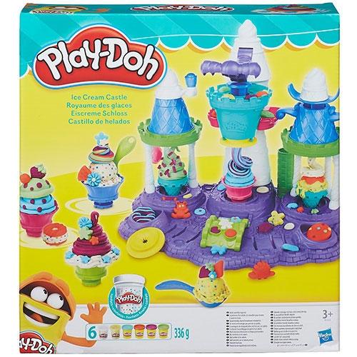 Play-Doh Ice Cream Castle Leklera