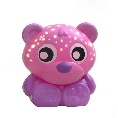 Playgro Godnatt Nalle Projektor - Rosa