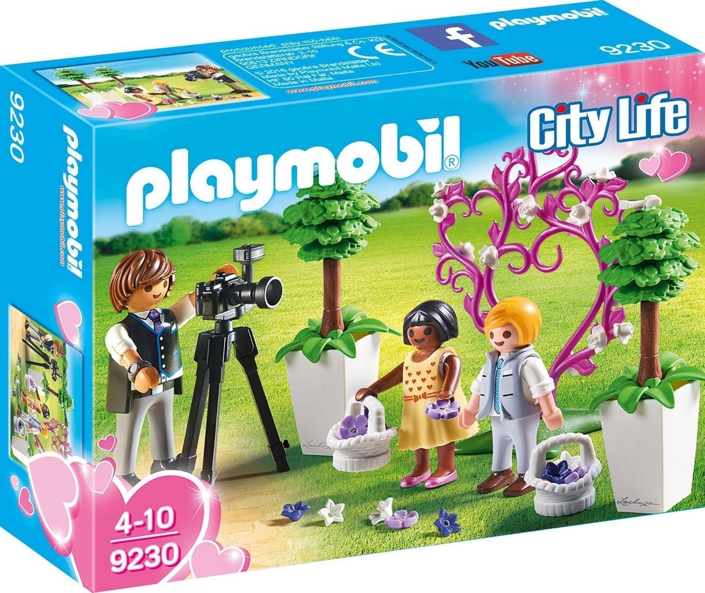 Playmobil City Life (9230) Blomsterbarn och Fotograf