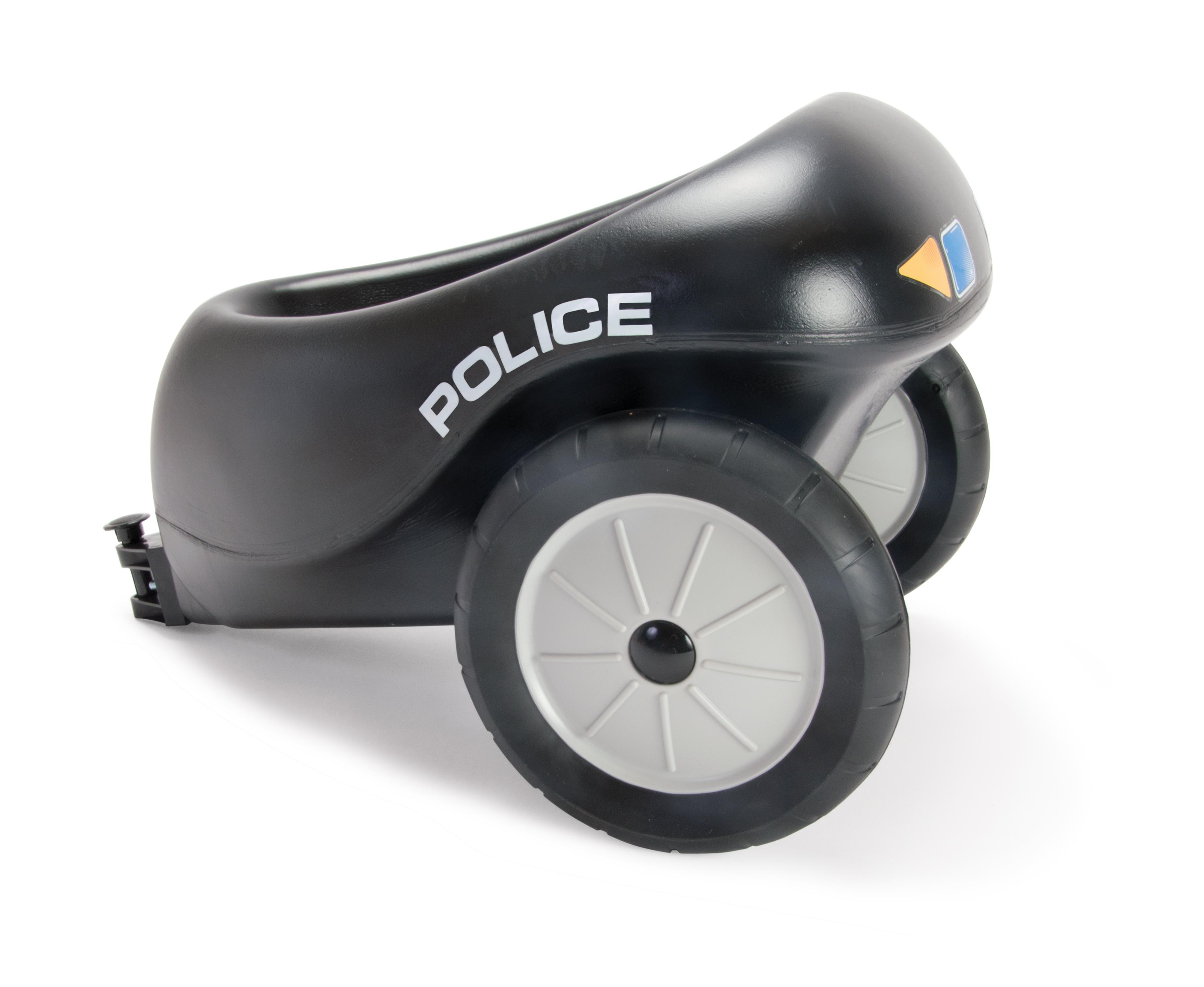 Dantoy Dantoy anhænger til politiscooter med gummihjul, 7 stk. på lager på pixizoo