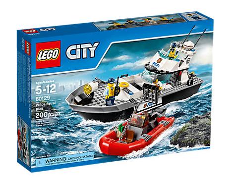 LEGO City (60129) Patrullbåt