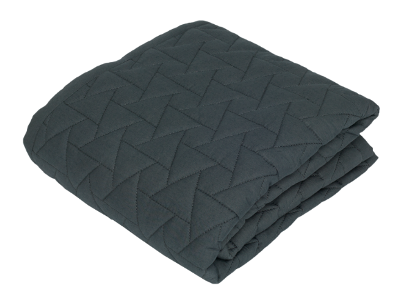 Gubini Quilt Star Baby Överkast 120 x 120 cm – Anthracite