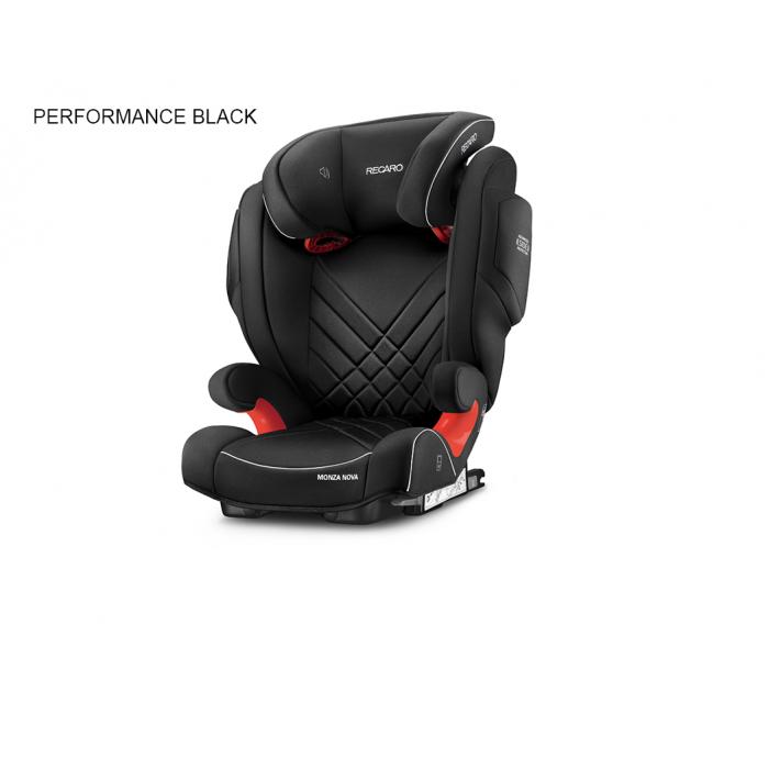 Recaro – Recaro monza nova 2 seatfix autostol - performance black (til isofix montering), +10 stk. på lager fra pixizoo