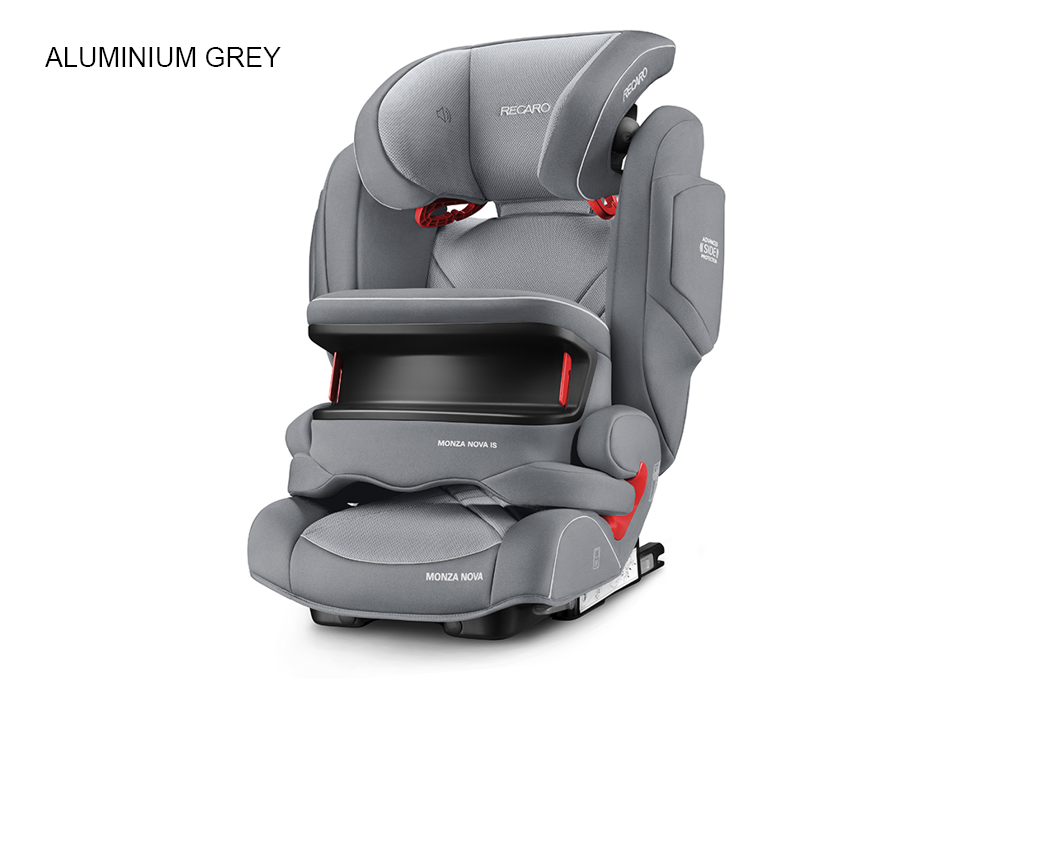 Recaro Recaro monza nova is seatfix autostol - aluminium grey, 1 stk. på lager fra pixizoo