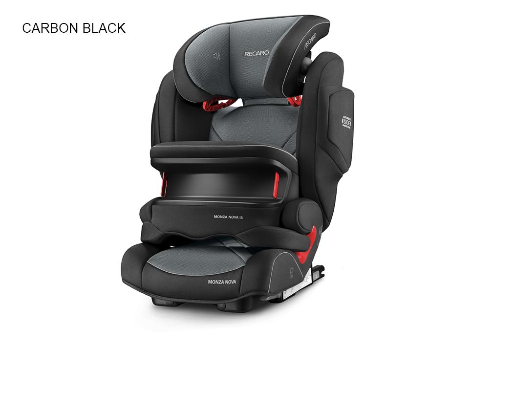 Recaro – Recaro monza nova is seatfix autostol - carbon black/grey (til isofix og/eller sele montering), 8 stk. på lager på pixizoo