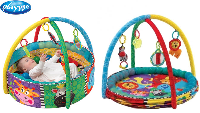 Playgro Ball Activity Nest Babygym