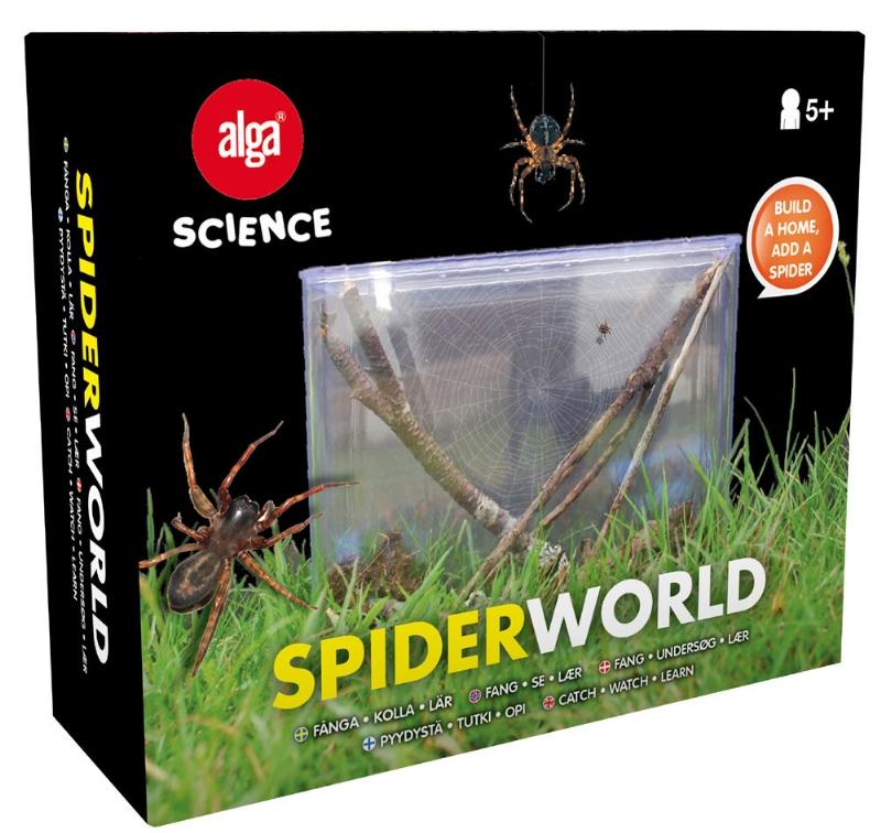 Alga spiderworld, 2 stk. på lager fra Alga på pixizoo