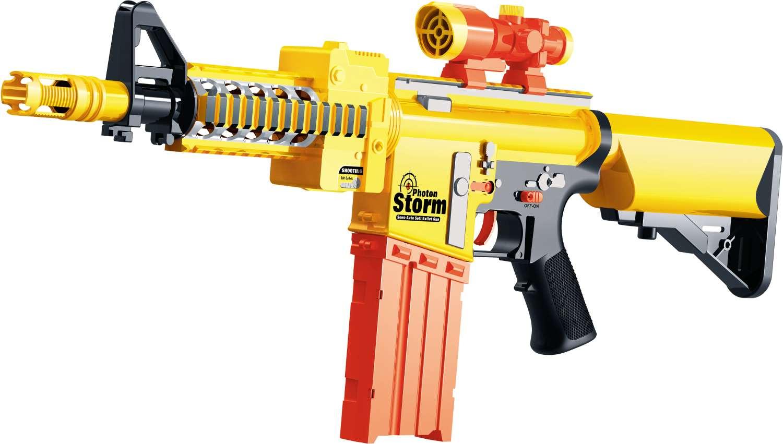 Air blaster soft bullet riffel med 20 pile - photon storm, +10 stk. på lager fra Air blaster fra pixizoo