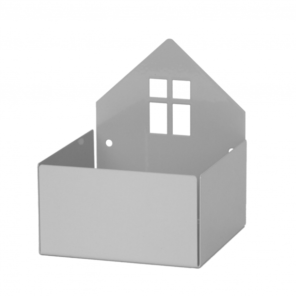 Roommate Hus Vägghylla - Grå