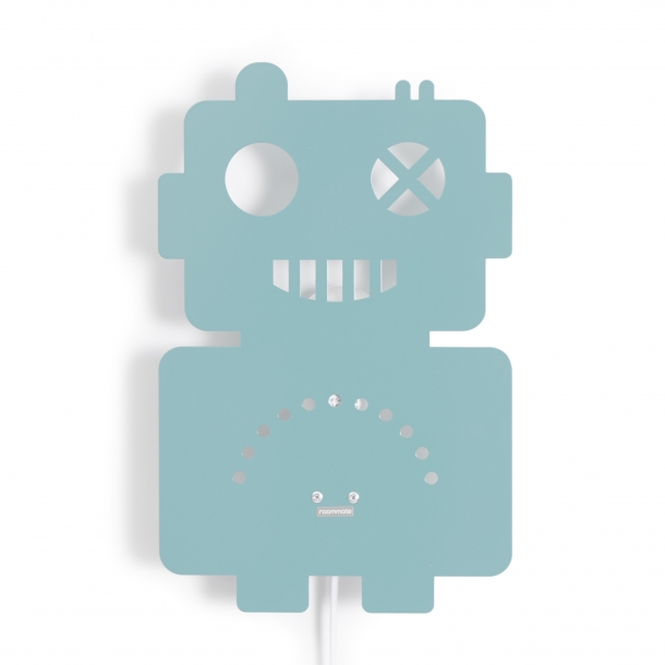 Roommate Robot Lampa - Blå