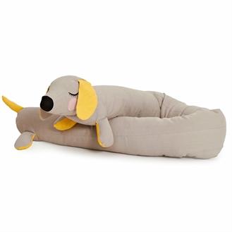 Roommate Lazy Long Dog Gosedjur - Grå