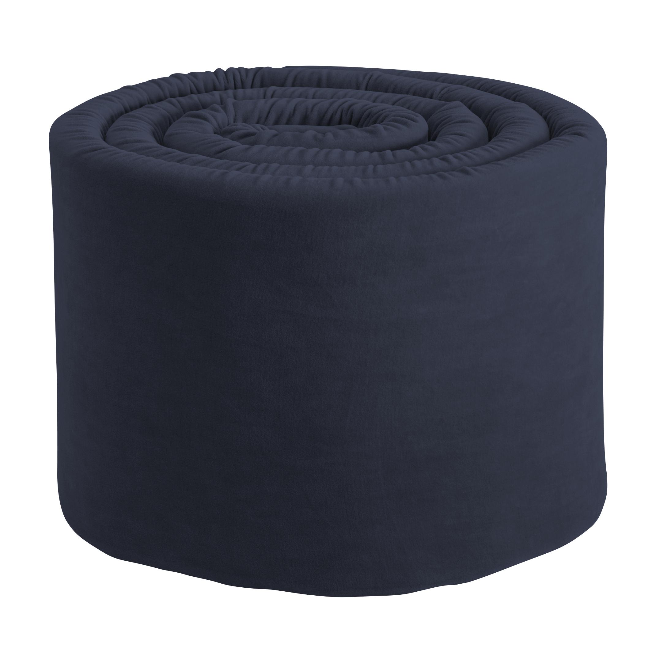 Sebra Spjälskydd Velour - Royal Blue