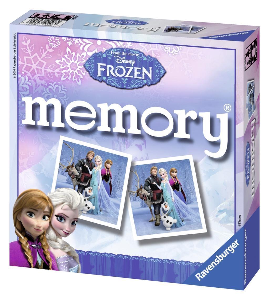 Ravensburger – Ravensburger - frozen memoryspil, 6 stk. på lager fra pixizoo
