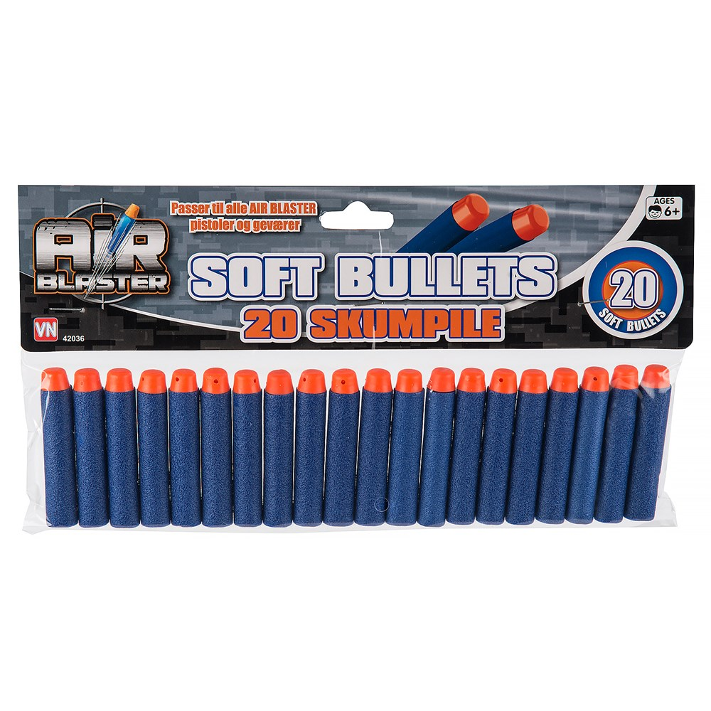 Air Blaster Soft Bullets 20-pack