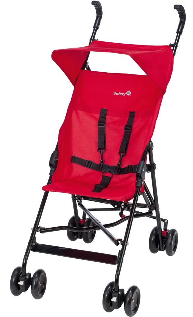 Safety 1st - Peps Paraplyvagn Med Sufflett - Röd