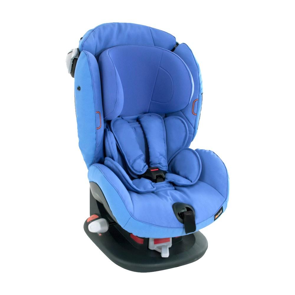 Be safe – Saphir blue izi comfort x3 autostol - besafe (til sele montering), 1 stk. på lager på pixizoo
