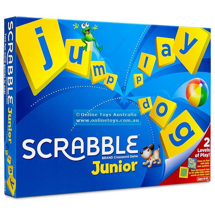 Hasbro Hasbro scrabble junior, +10 stk. på lager på pixizoo