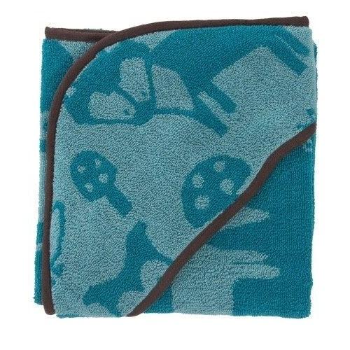 Sebra Sebra - håndklæde m. hætte, farm boy, 4 stk. på lager fra pixizoo