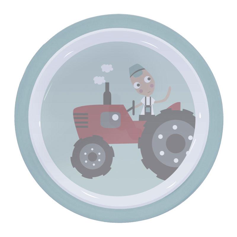 Sebra – Sebra - melamintallerken, farm boy, stor, 3 stk. på lager fra pixizoo