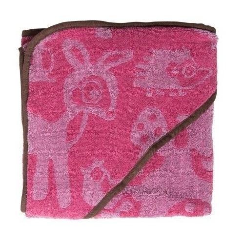 Sebra Farm Handduk - Rosa