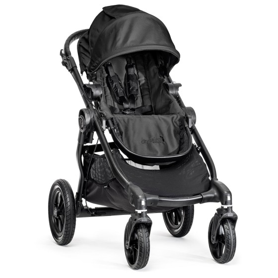 Baby jogger Baby jogger city select single - sort, 8 stk. på lager fra pixizoo