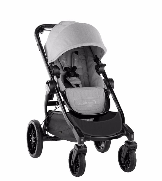 Baby jogger city select lux - slate 2017 klapvogn, +10 stk. på lager fra Baby jogger fra pixizoo