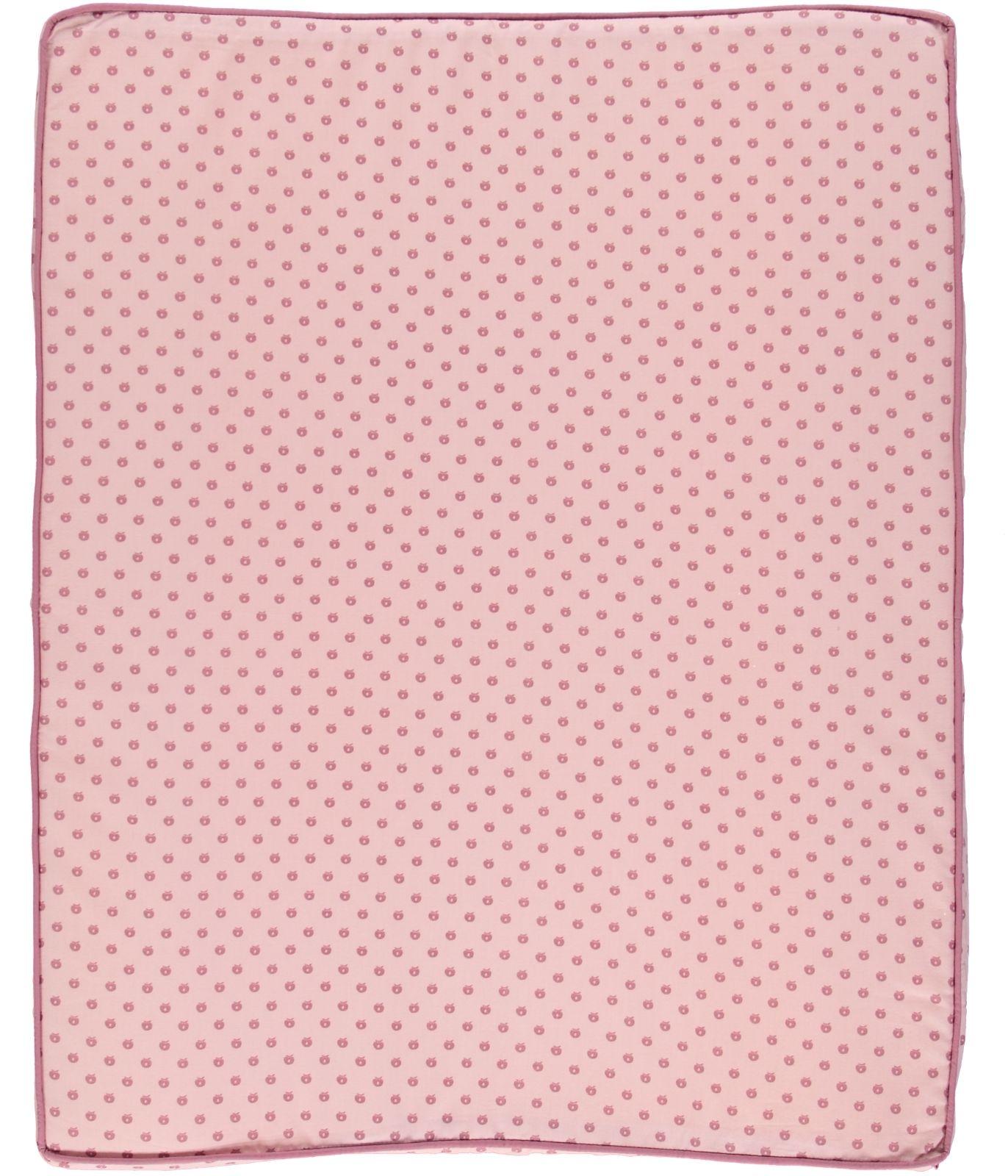 Småfolk Skötbädd Micro Äpplen-  Silver Pink