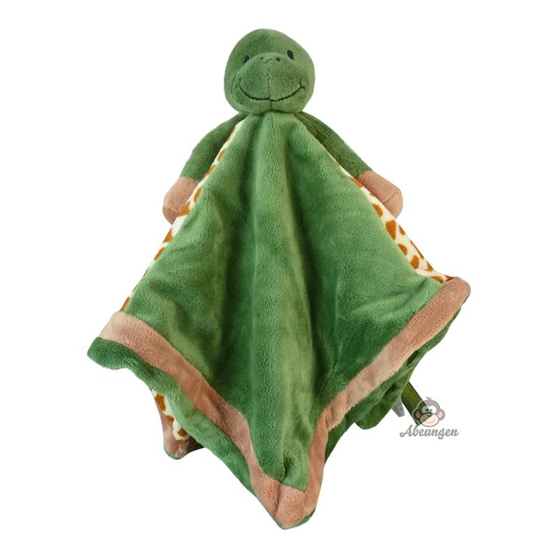 Teddykompaniet Diinglisar Snuttefilt Sköldpadda - Grön