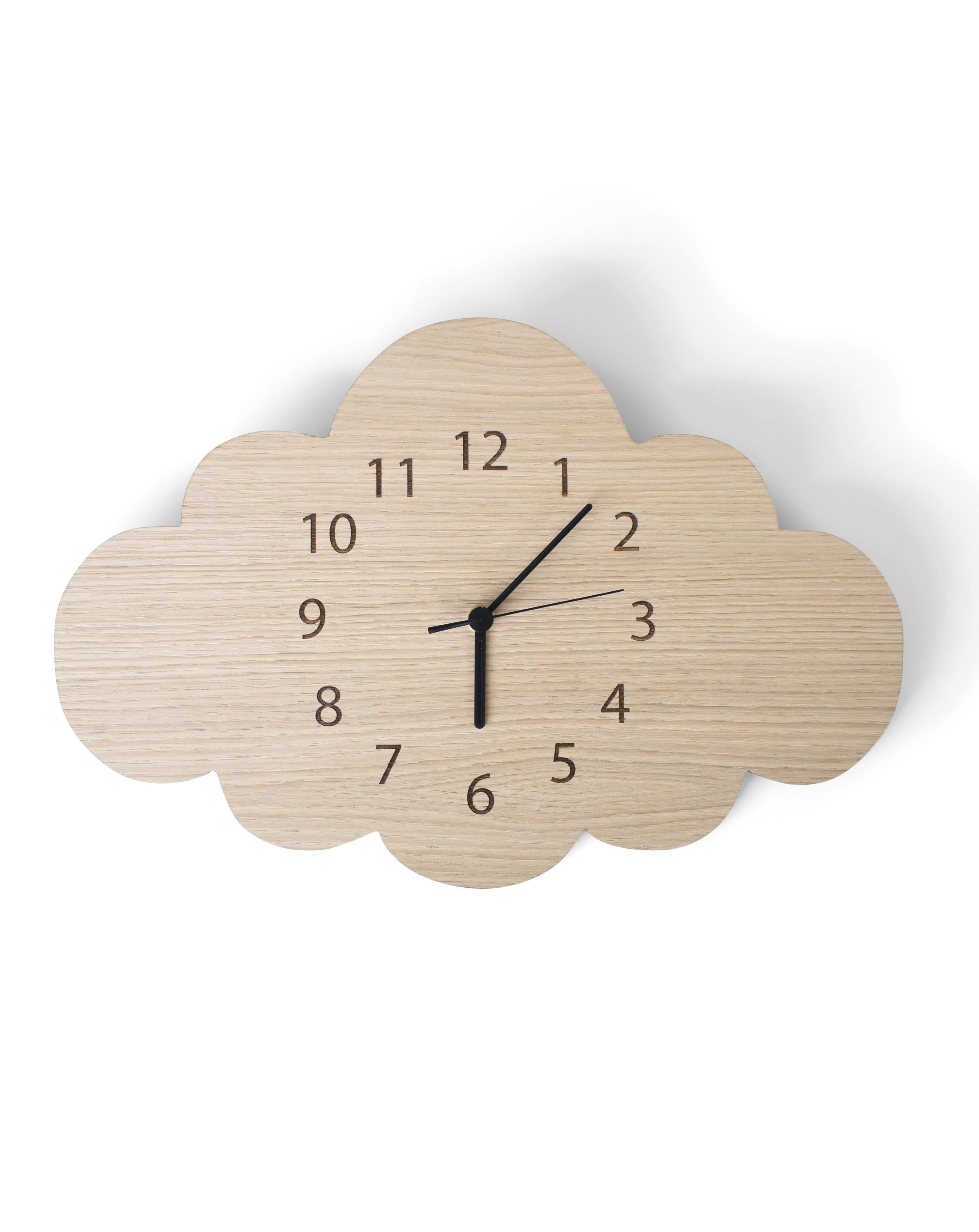 Maseliving – Sky ur (egetræ) - maseliving, 3 stk. på lager på pixizoo