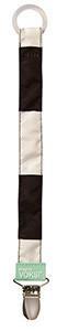 Design by voksi - sutteholder (black ivory), 6 stk. på lager fra Design by voksi fra pixizoo