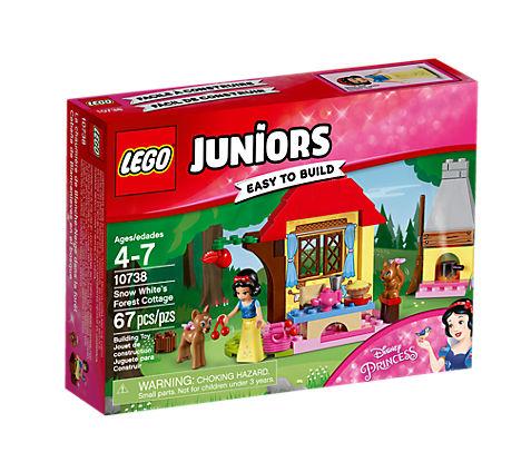 LEGO Juniors (10738) Snövits Stuga i Skogen